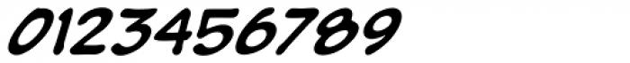 Pumpkinseed Black Oblique Font OTHER CHARS