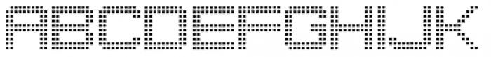 Punch Tape JNL Font UPPERCASE