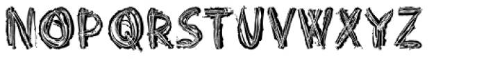 Punkerro Crust Font UPPERCASE