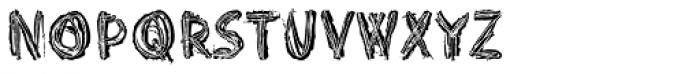 Punkerro Crust Font LOWERCASE