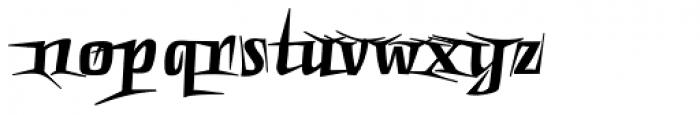 Punten Extremo Font LOWERCASE