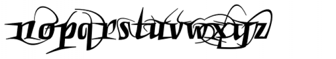 Punten Rondom Font LOWERCASE