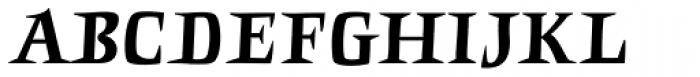 Punten Straight Font UPPERCASE