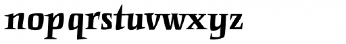 Punten Straight Font LOWERCASE