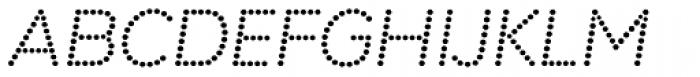 Punto Bold Italic Font UPPERCASE