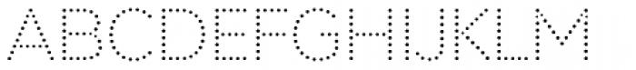Punto Light Font UPPERCASE