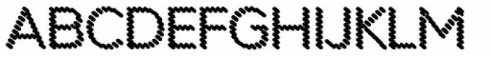 Punto Poly Shadow Font UPPERCASE