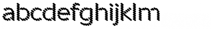 Punto Poly Shadow Font LOWERCASE