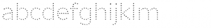 Punto Poly Star Font LOWERCASE