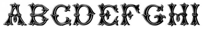 Purcell Font LOWERCASE
