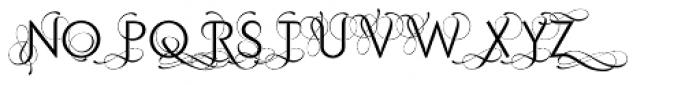 Purissima C Font UPPERCASE
