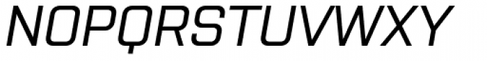 Purista Medium Italic Font UPPERCASE