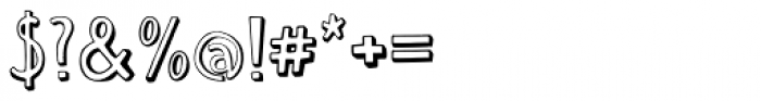 Push Ups Medium Font OTHER CHARS