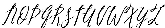 Pure Seduction Font UPPERCASE