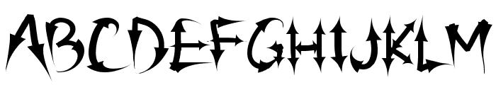 PW Arrow font Font UPPERCASE