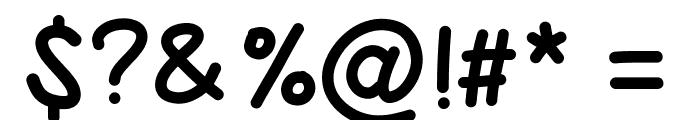 PWBoldScript Font OTHER CHARS