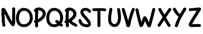 PWBoldScript Font UPPERCASE