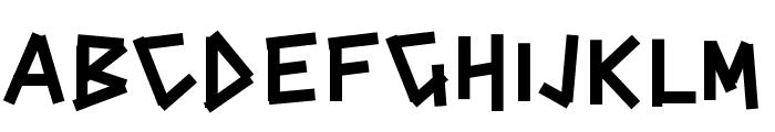 PWCINDERBLOX Font LOWERCASE