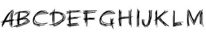 PWChalk Font UPPERCASE