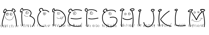 PWChildren Font LOWERCASE