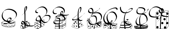 PWChristmasGifts Font OTHER CHARS