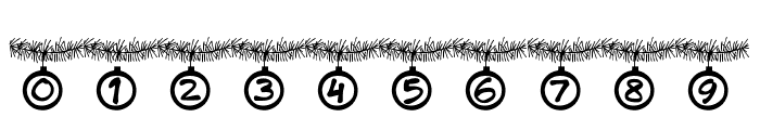 PWChristmastime Font OTHER CHARS