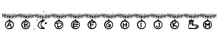 PWChristmastime Font UPPERCASE