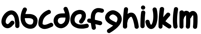 PWCoolFont Font LOWERCASE