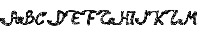 PWDolphins Font UPPERCASE