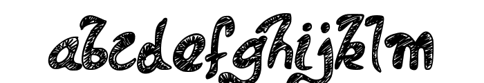 PWDolphins Font LOWERCASE