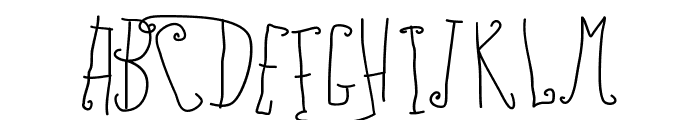 PWFairyTales Font UPPERCASE
