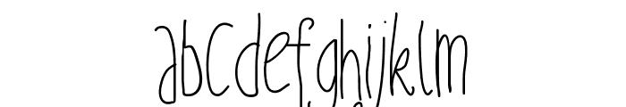 PWFairyTales Font LOWERCASE