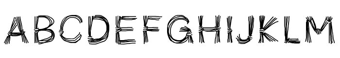 PWFicelles Font LOWERCASE