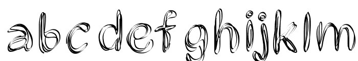 PWFilament Font LOWERCASE