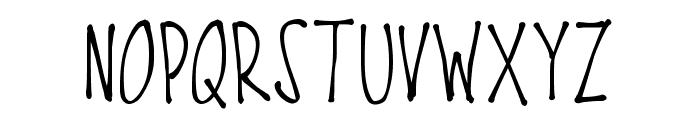 PWFine Font UPPERCASE