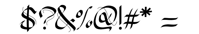 PWGothicStyle Font OTHER CHARS