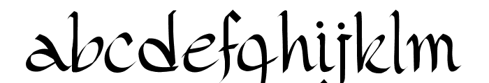 PWGothicStyle Font LOWERCASE