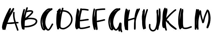 PWMambo Font UPPERCASE