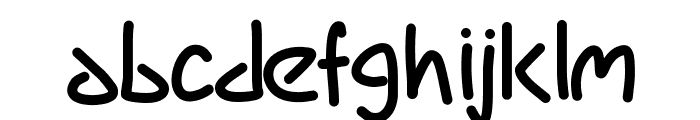 PWMarker Font LOWERCASE