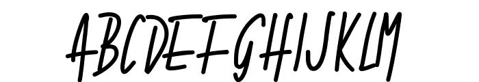 PWNarrow Font UPPERCASE