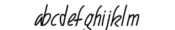 PWNarrow Font LOWERCASE