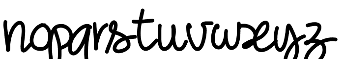 PWNoodleThing Font LOWERCASE
