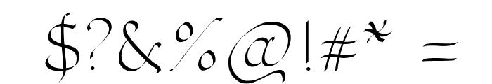 PWOrnaments Font OTHER CHARS