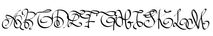PWOrnaments Font UPPERCASE