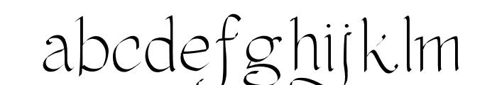 PWOrnaments Font LOWERCASE