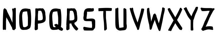 PWRectangle Font UPPERCASE