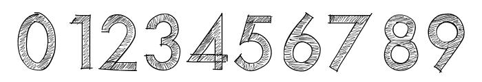 PWScratchedfont Font OTHER CHARS