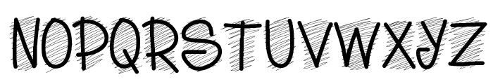 PWScritch Font UPPERCASE