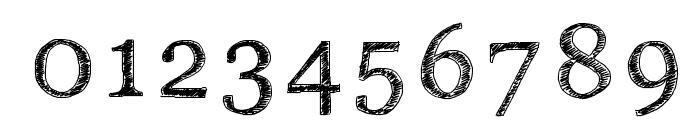PWSerifScratch Font OTHER CHARS