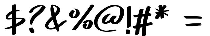 PWSkriptt Font OTHER CHARS